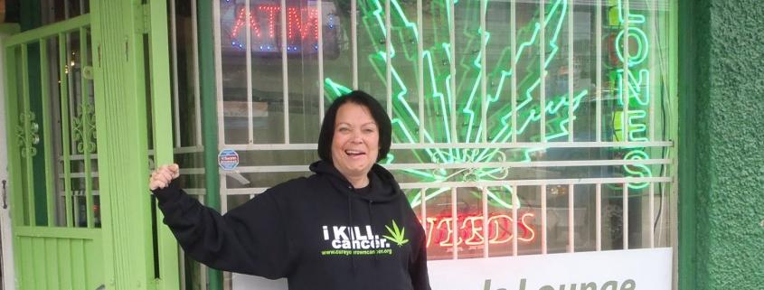 Canadese Joanne werd gesloopt door de chemo en bestraling, maar hervond haar kracht in cannabisolie
