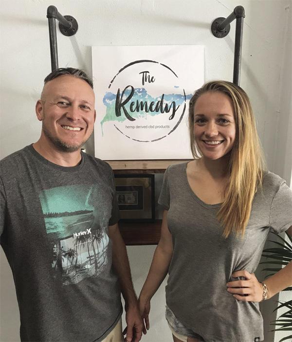 Ryan met zijn vrouw Lindsey